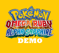 Pokemon Omega Ruby and Alpha Sapphire DEMO
